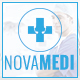 NOVAMEDI - one page Medical psd template - ThemeForest Item for Sale