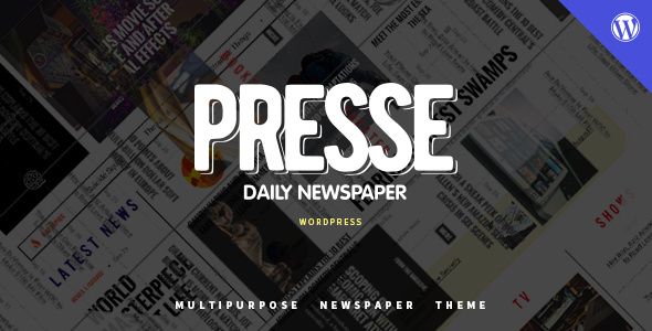 Presse - WordPress Magazine News Theme