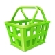 Green Shopping Basket - GraphicRiver Item for Sale