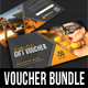 3 in 1 Flexible Multiuse Gift Voucher Bundle 03 - GraphicRiver Item for Sale