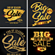 Gold Sale Banners - GraphicRiver Item for Sale