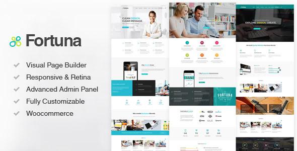 Fortuna - Responsive Multi-Purpose WordPress Theme