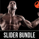 3 in 1 Fitness & Sport Activity Slider Bundle - GraphicRiver Item for Sale