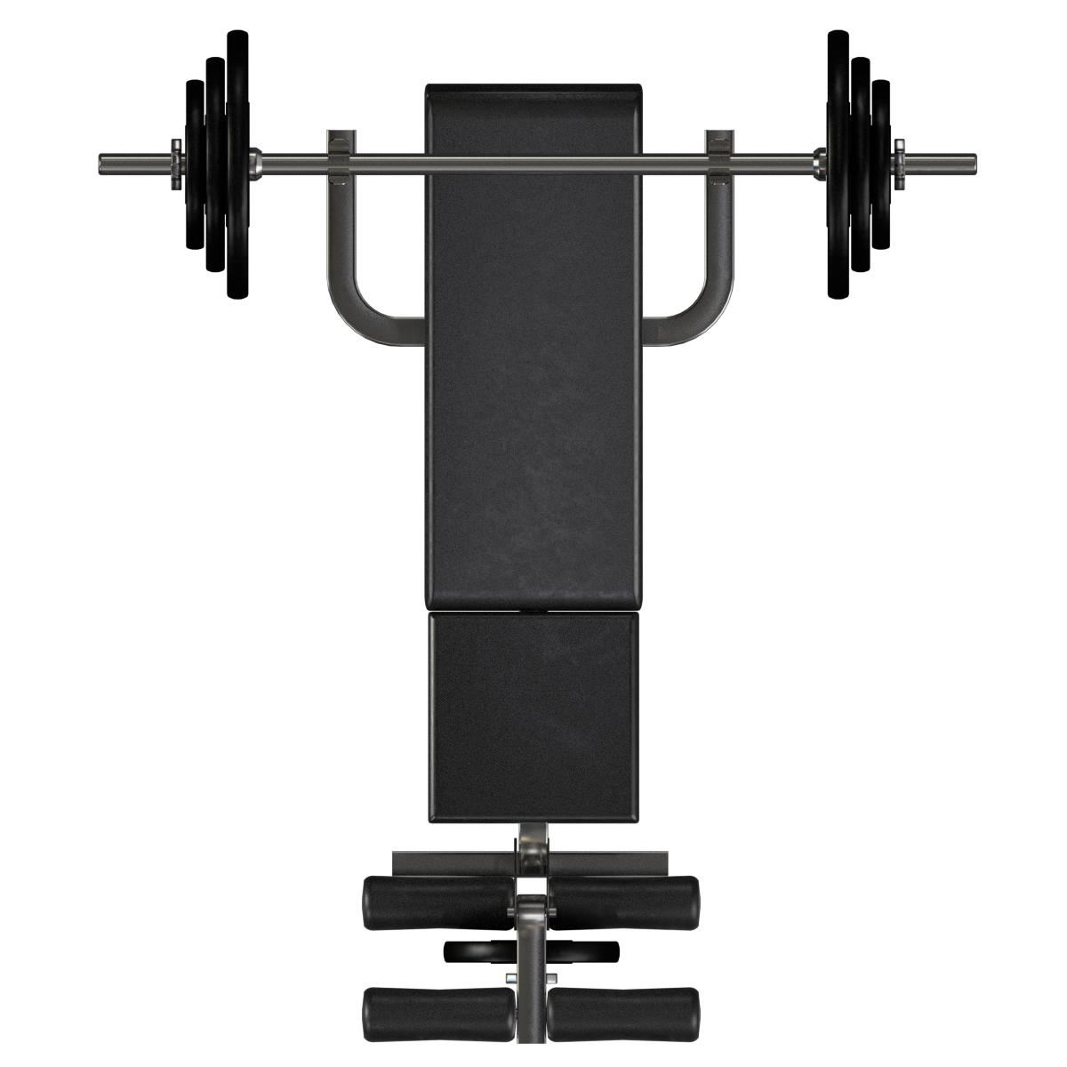 Gym Machines Top View, HD Png Download - kindpng