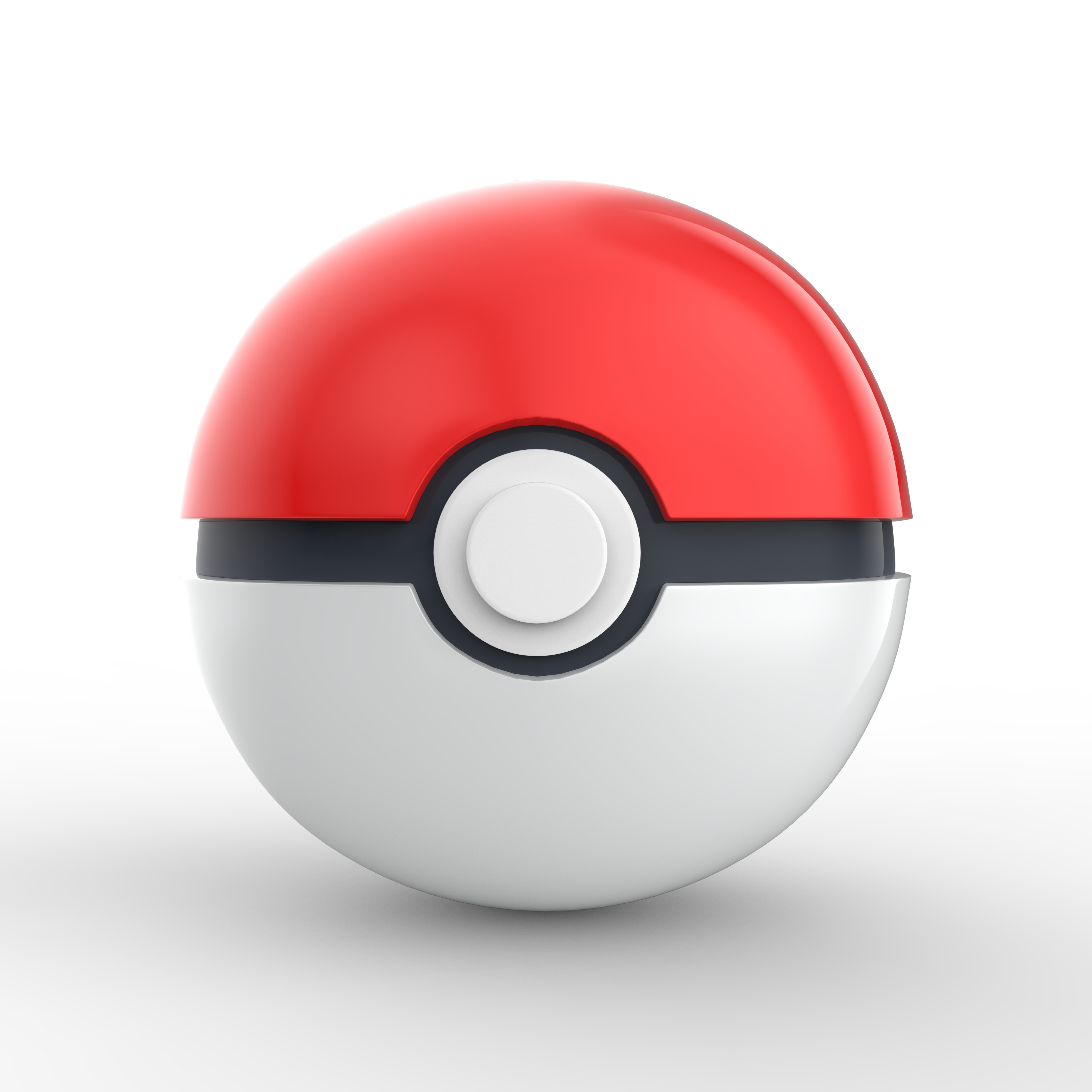 3d Pokeball By Commercial Render 3docean