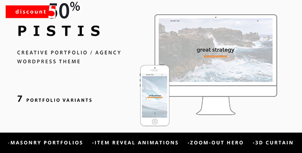 Pistis – Creative Portfolio / Agency WP Theme