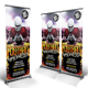 Football Madness Roll-up Banner - GraphicRiver Item for Sale