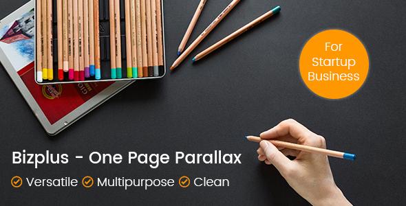Bizplus – One Page Parallax
