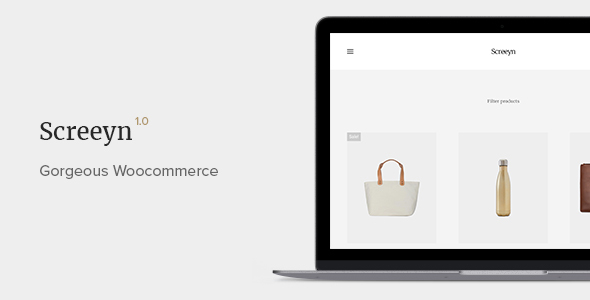Screeyn – Minimal & Sleek WooCommerce Theme