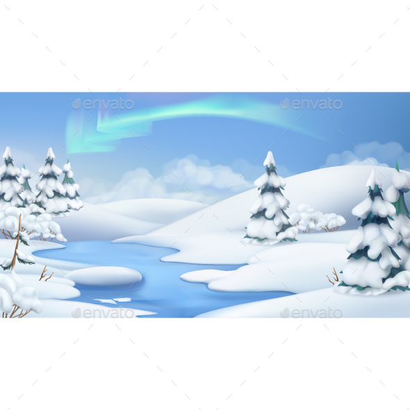 Winter Landscape - Landscapes Nature