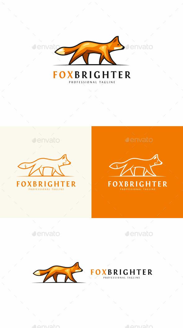 Fox - Animals Logo Templates