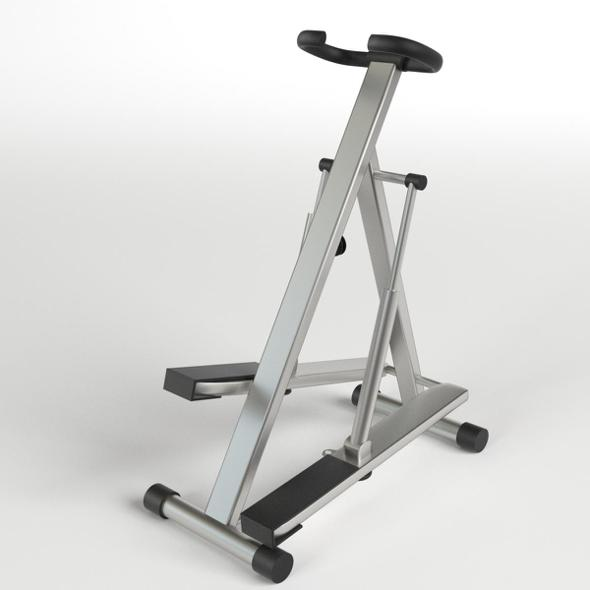 Gym Equipment - Stepper Glute Machine - 3DOcean Item for Sale