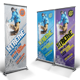 Snowboarding Roll-up Banner - GraphicRiver Item for Sale