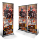 Football Roll-up Banner - GraphicRiver Item for Sale
