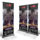 Motocross Champ Roll-up Banner