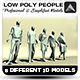 Low Poly People