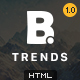 B - Trends Ecommerce Multipurpose HTML Template - ThemeForest Item for Sale