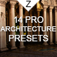 14 Pro Architecture Presets - GraphicRiver Item for Sale