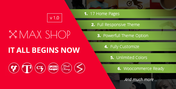 Maxshop | Multi-Purpose Responsive WooCommerce Theme