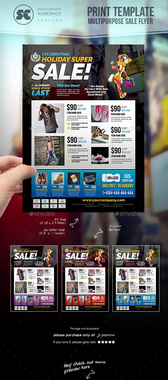 Multipurpose Sales Flyer - Commerce Flyers