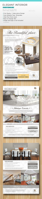 Elegant Interior Flyer - Corporate Flyers