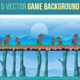 5 Vector Game Background - GraphicRiver Item for Sale