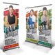 Fitness Roll-up Banner - GraphicRiver Item for Sale