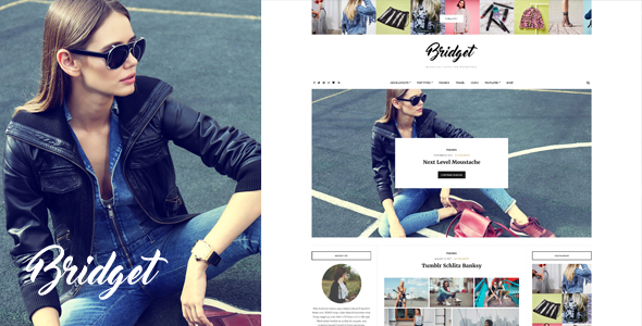Bridget – Fashion / Lifestyle Theme for WordPress