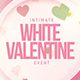 White Valentine - Flyer Template - GraphicRiver Item for Sale