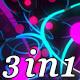 Neon Universe - VJ Loop Pack (3in1) - VideoHive Item for Sale