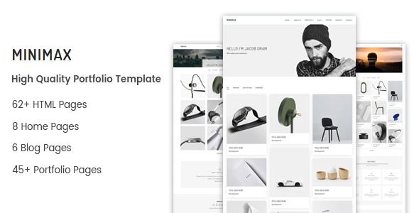 Minimax – Minimal Portfolio Template