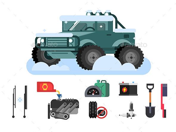 Preparing Car To Winter - Seasons Nature