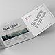 Tri-Fold Square Brochure Mock-up - GraphicRiver Item for Sale