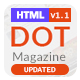 Dot Magazine HTML Templates - ThemeForest Item for Sale