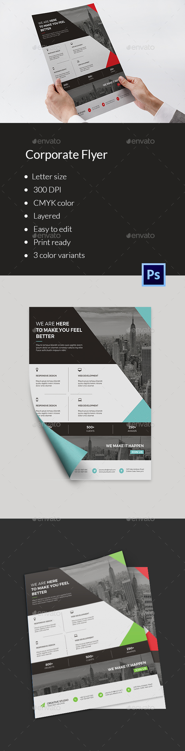 Business Flyer Template-V137 - Corporate Flyers