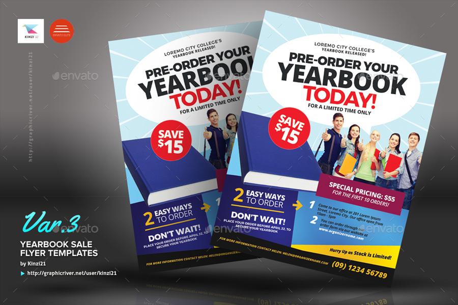Yearbook Sales Flyer Template Ibovnathandedecker