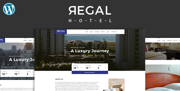 Regal - Hotel WordPress Theme