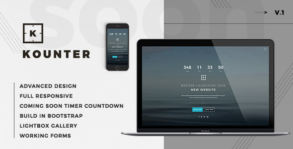 Kounter – Coming Soon Template