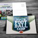 Youth Football Camp Postcard - GraphicRiver Item for Sale