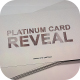 Platinum Card Reveal - VideoHive Item for Sale