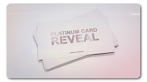 Platinum card reveal by transmaxx videohive play preview video publicscrutiny Gallery