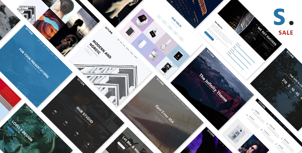 Saturn – Multiuse and Accurate WordPress Theme