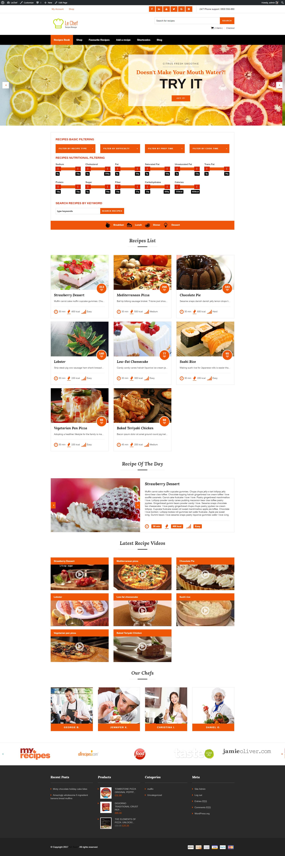 Le chef premium recipe plugin by aa team codecanyon screeens01homeg forumfinder Choice Image