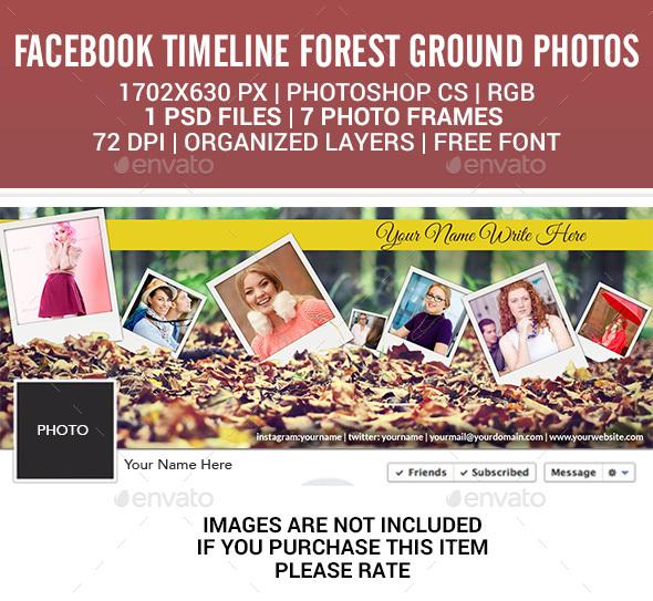 Facebook Timeline  Forest Ground Photos - Facebook Timeline Covers Social Media