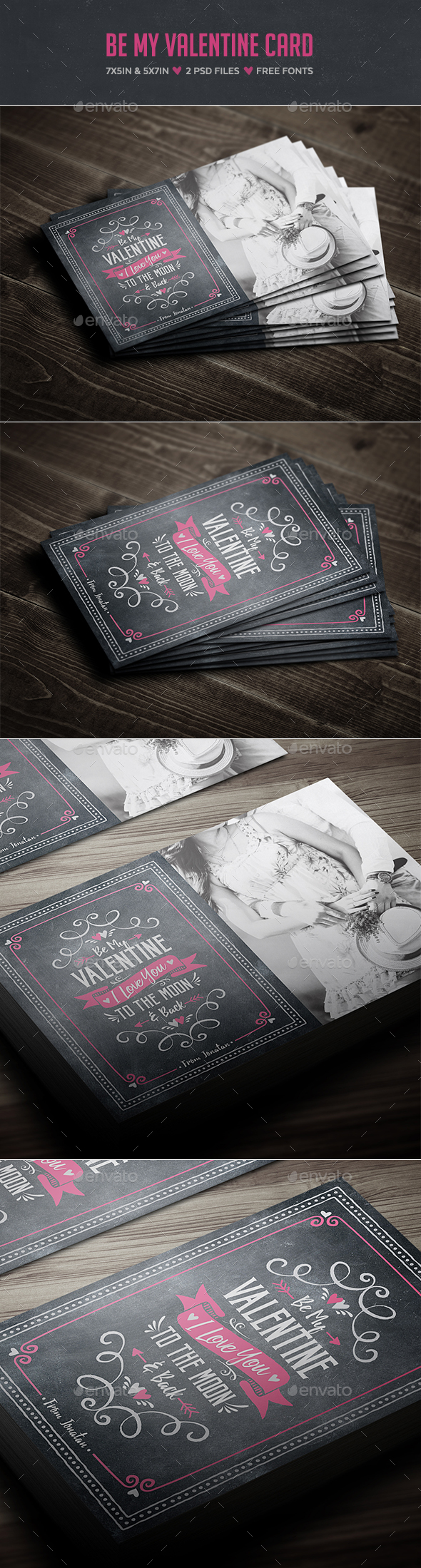 Be My Valentine Card - Holiday Greeting Cards