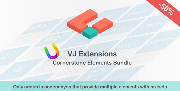VJ Extensions - Cornerstone Elements Bundle - CodeCanyon Item for Sale