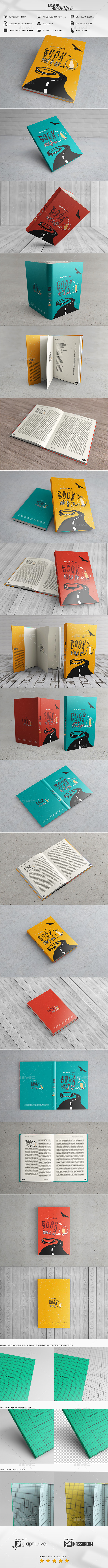 Book Mock-Up 3 - Books Print