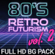 80s Retro Futurism Background Pack vol.2 - VideoHive Item for Sale