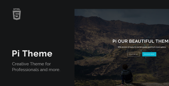 PiTheme – Creative Responsive One Page