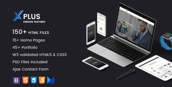 xPlus – Responsive Multipurpose Business Template